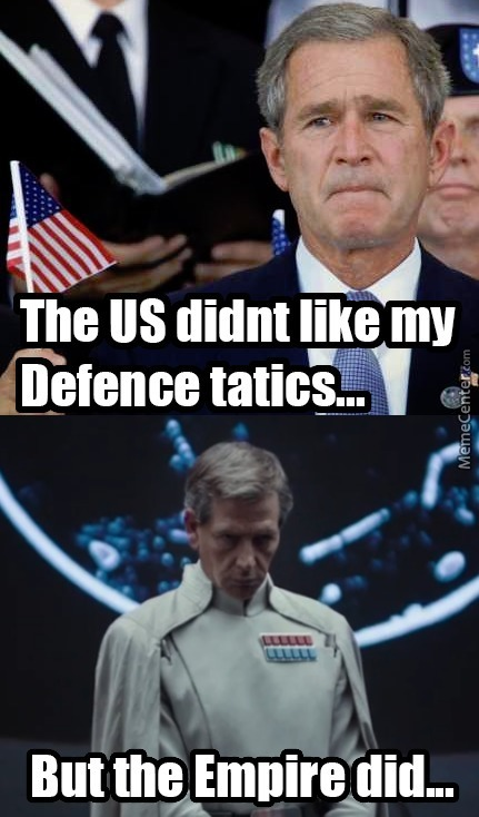 George Bush As A Imperial Grand Admiral