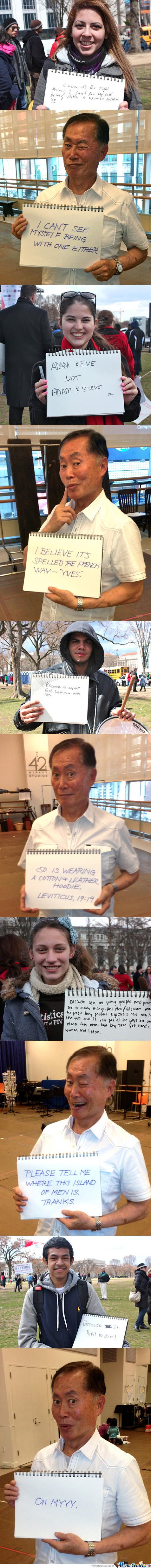 George Takei Is Awesome