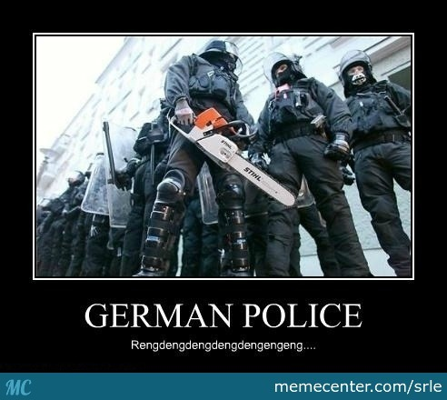 German Police by srle - Meme Center