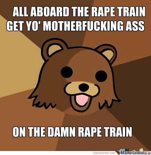 Get On The Rape Train