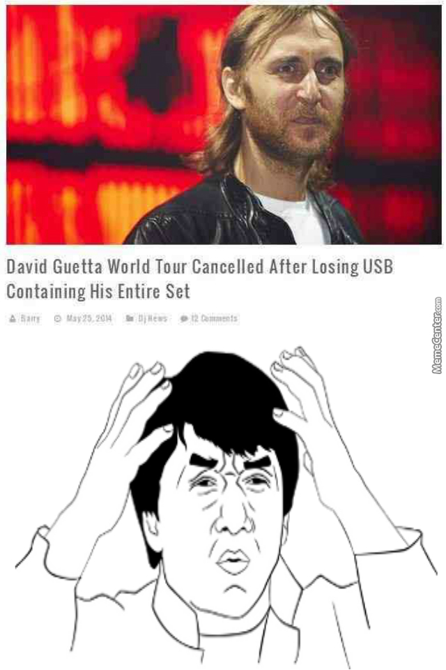 Get Your Sh*t Together David Guetta!