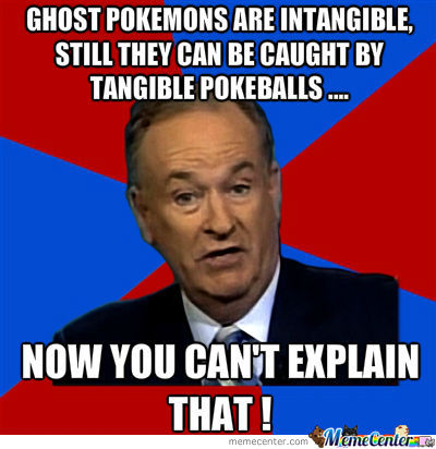 Ghost Pokemons !