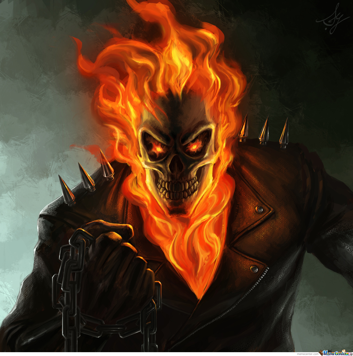 Ghost Rider by serathd...