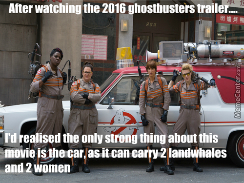 Ghostbusters? Whaha, Ain't That Cute? But Wrong