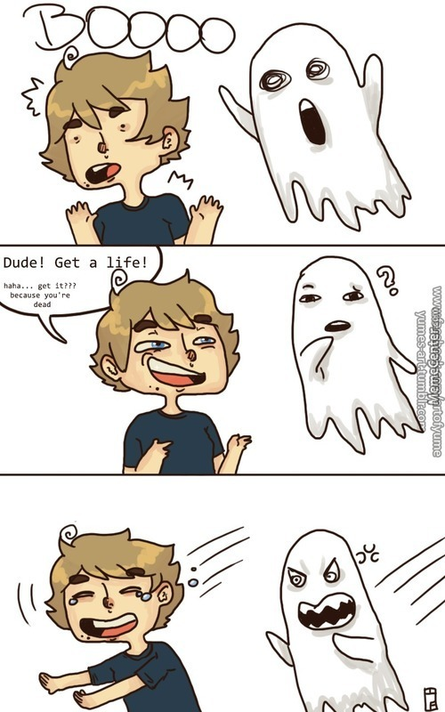 Ghosts Hate Me
