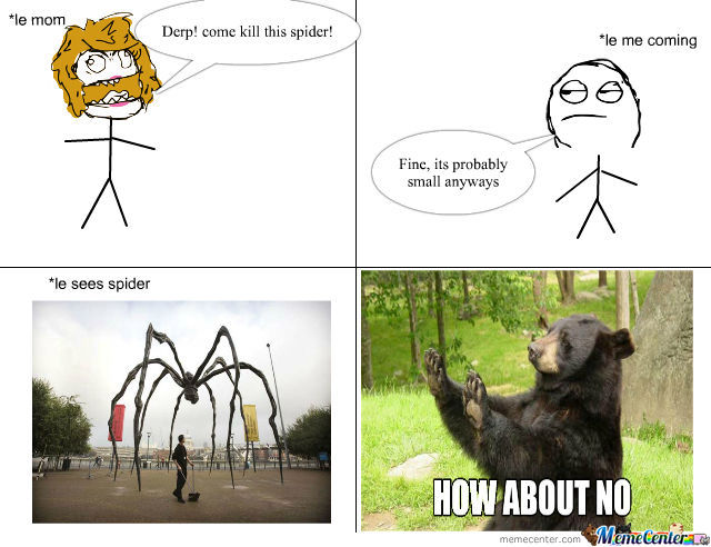 Giant scary spiders memes - photo#13