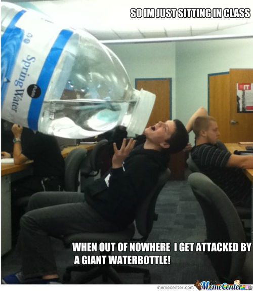 Giant Waterbottle