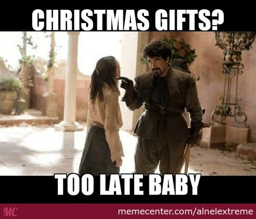Gifts Too Late Baby