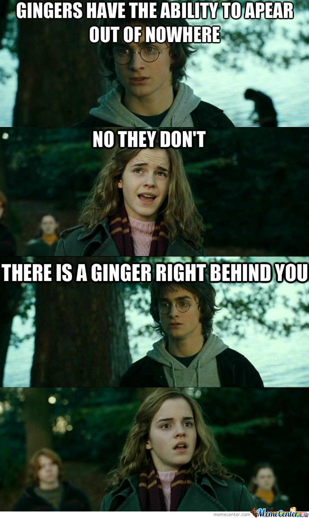 Gingers Have Magical Powers!