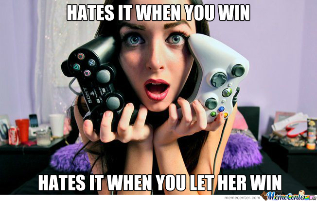 Girl Gamer Logic