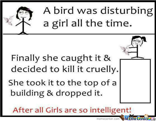 Girls Are So Intelligent.