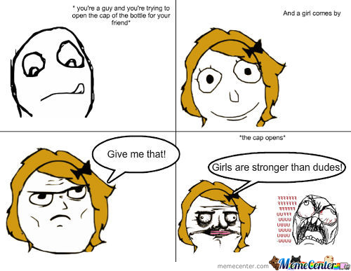 Girls Are Stronger D: