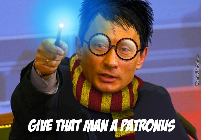 Give That Man A Patronus