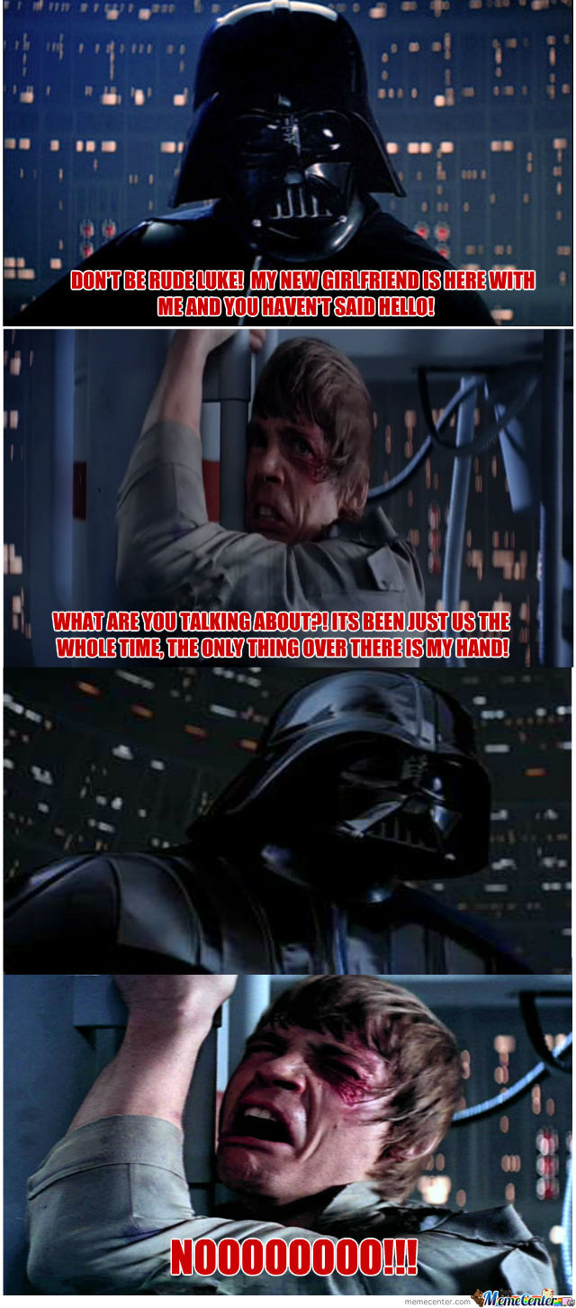 Give Vader A Hand