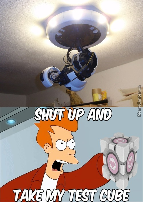 Glados Ceiling Light