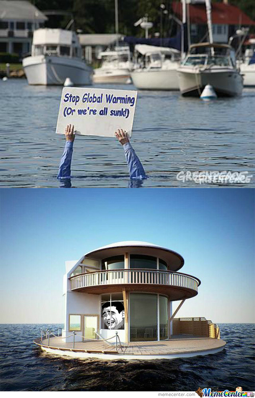 Global Warming? Rising Sea Level?