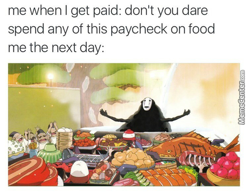 Glorious Payday, Bring On The Feast