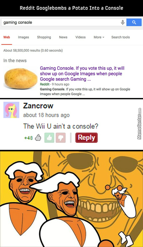 Glorious Potato Gaming Master Race