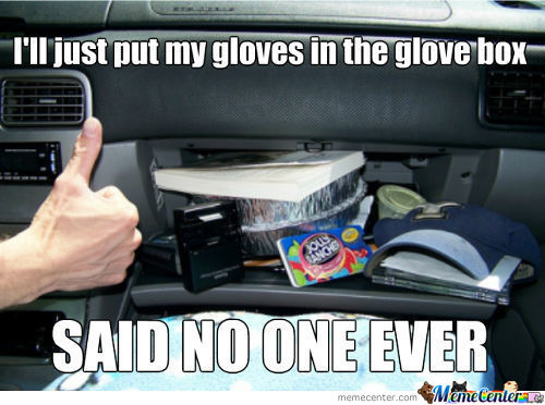 Glove Box Logic