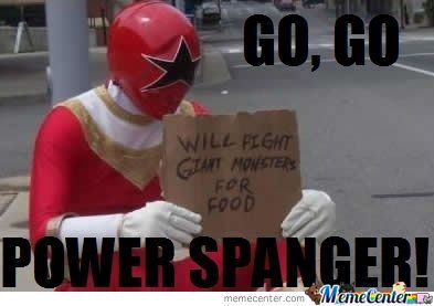 Go, Go Power Spanger!