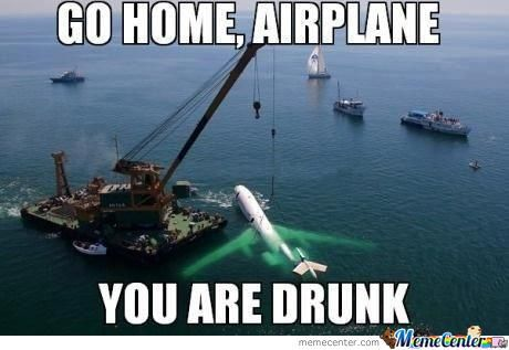 Go Home Airplane