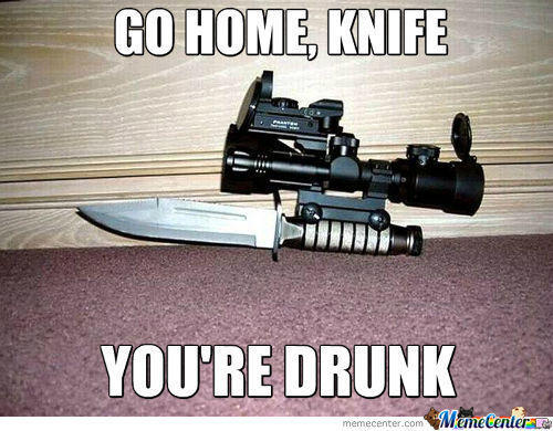 Go Home, Knife...