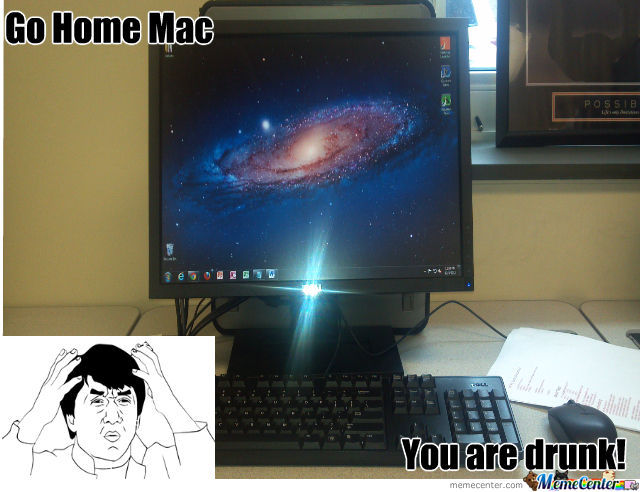 Go Home..mac? Pc?