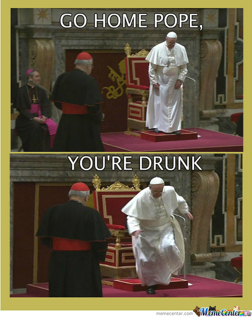 Go Home Pope