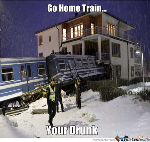 Go Home Train...