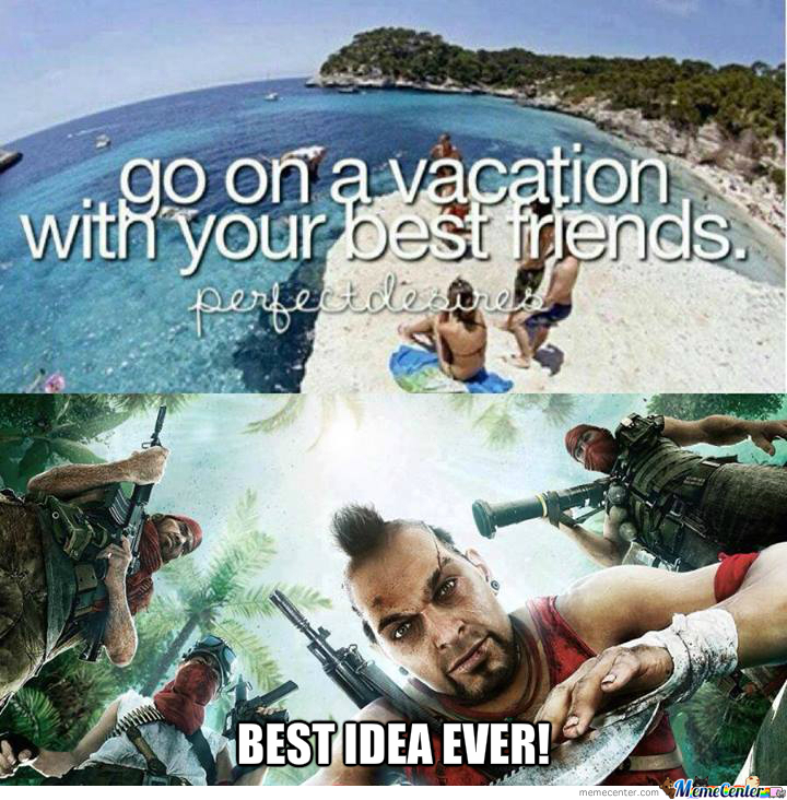 Go On A Vacation They Said...