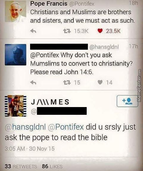 Go On. Read The Bible Please.
