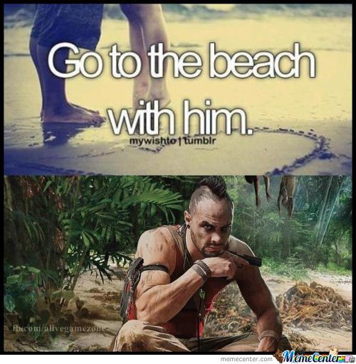 Go To The Beach With Him