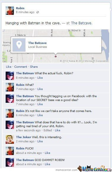 God Dammit Robin!