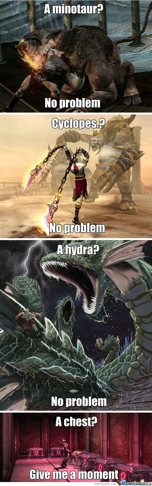 God Of War Logic