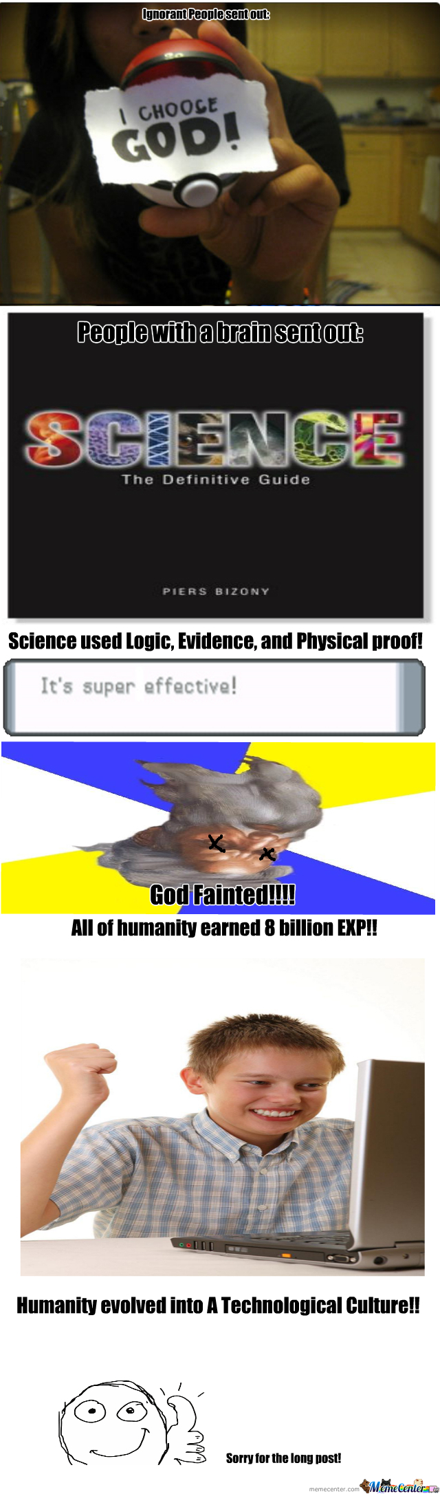 God V. Science