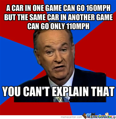 Goddamn Racing Games!