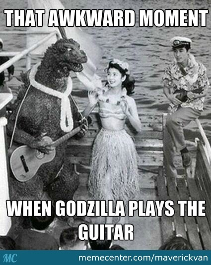 Godzilla On Vacation