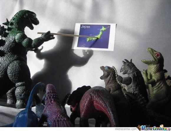 Godzilla's Secret Plan