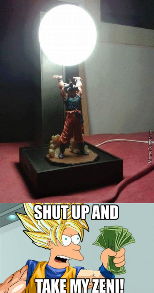 Goku Got The Idea