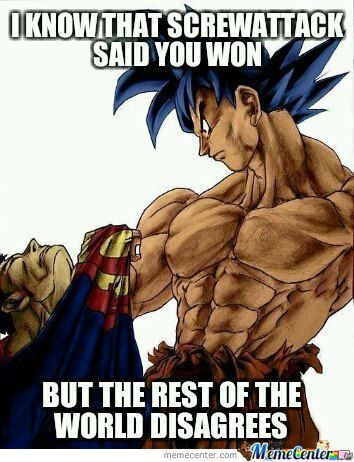 Goku Should Have Won