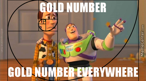 Gold Number, Gold Number Everywhere