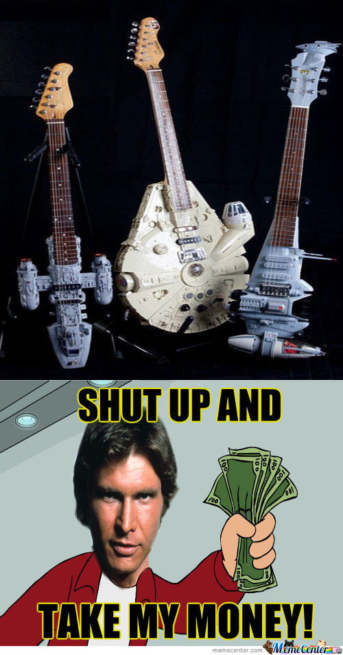 Gonna Rock Out In A Galaxy Far Far Away