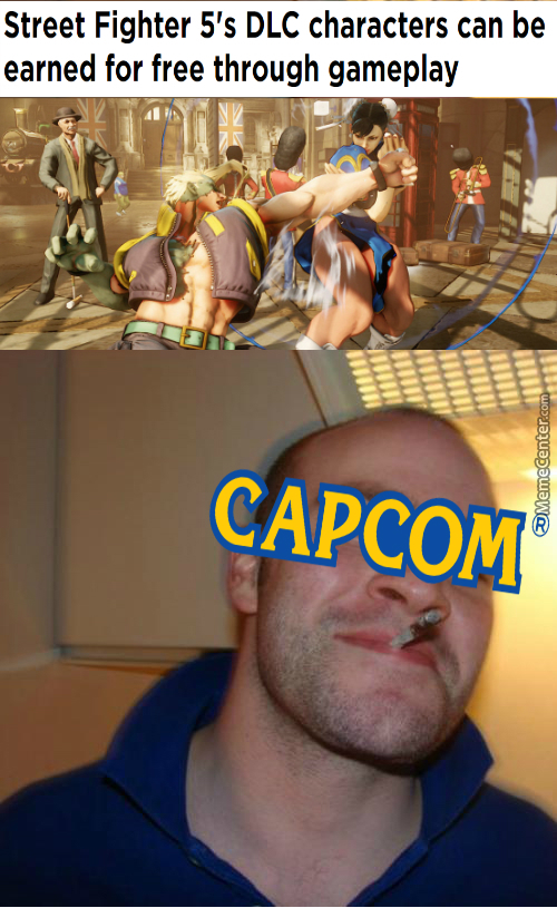 Good Guy Capcom(My First Meme)