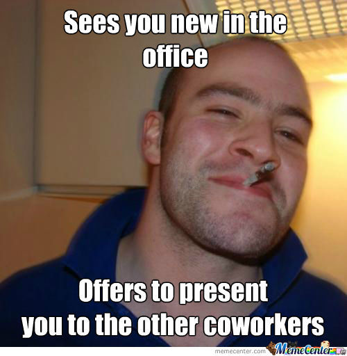 Good Guy Coworker