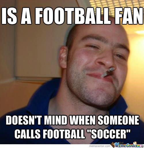 Good Guy Football Fan