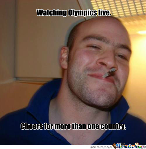 Good Guy Greg- Olympics