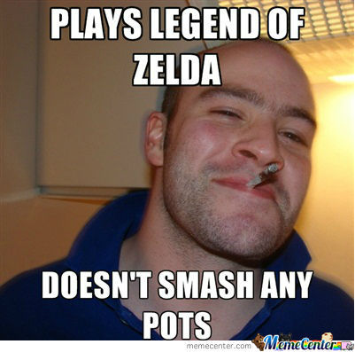 Good Guy Greg & Legend Of Zelda