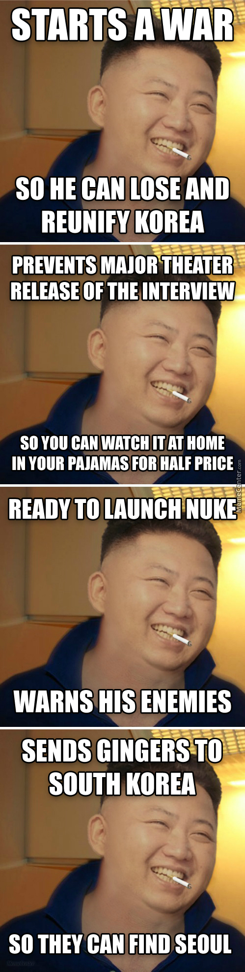 Good Guy Kim Jong Un