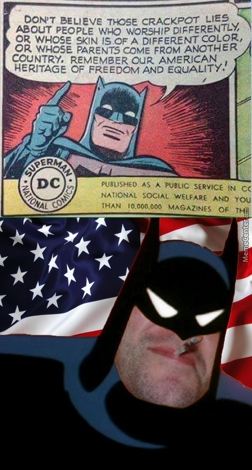 Good Guy Patriotic Batman