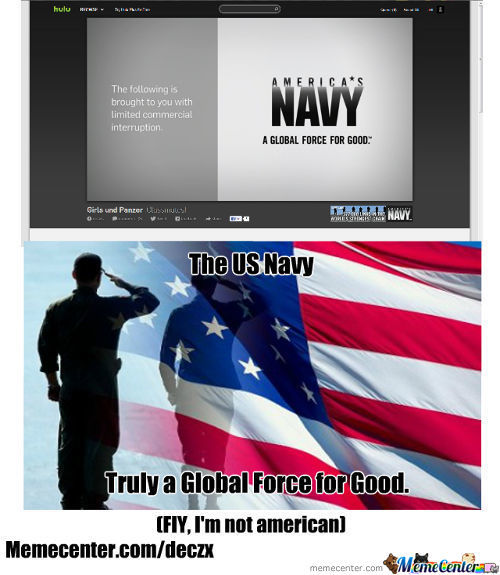Good Guys American Navy